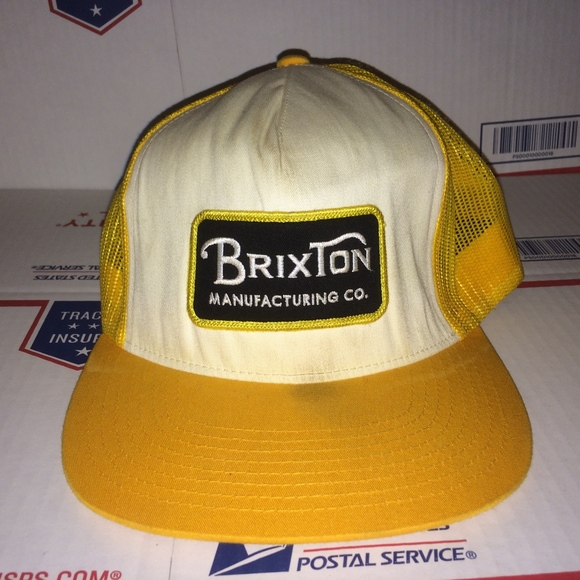 914591476ec29 Brixton Other - BRIXTON Manufacturing Co. Patch Mesh Trucker Hat !